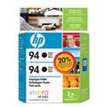 Cartucho HP 94 Twin Pack Preto - C9350FL