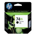Cartucho HP 74XL Jato de Tinta Preto 18ml CB336WB