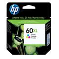 Cartucho HP 60XL Jato de Tinta Tricolor 15,5ml CC644WB