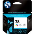 Cartucho HP 28 Jato de Tinta Tricolor 8ml C8728AB