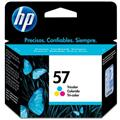 Cartucho HP 57 Jato de Tinta Tricolor 18ml - C6657AB