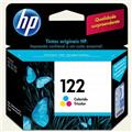 Cartucho HP 122 Jato de Tinta Tricolor 2ml - Ch562hb