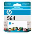 Cartucho HP 564 Photosmart Jato De Tinta Ciano 3,5ml - CB318WL