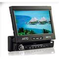 DVD/MP3 Player automotivo com tela retr�til de 7 touch screen - AR70