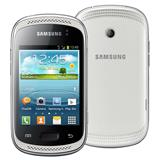 Samsung Galaxy Music Duos S6012 Branco, SMARTPHONE DESBLOQUEADO OI, Dual Chip, Android, Wi-Fi, Bluetooth, Cam 3.2MP, Mem�ria Interna 4GB